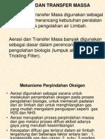 Aerasi Dan Transfer Massa