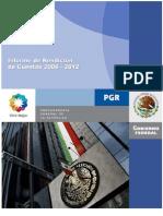 IRC de La PGR 2006-2012