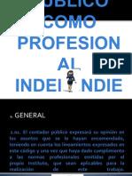 Contador Pblico INDEPENDIENTE