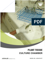 Plant Tissue Culture Chamber