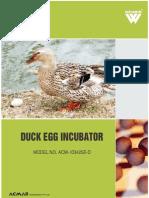 Duck Egg Incubator