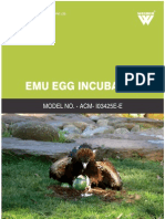 Emu Egg Incubator