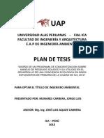 Plan de Tesiss
