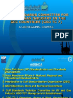 Gulf Standards Committee for Oil and Gas Industry in Gcc Countries