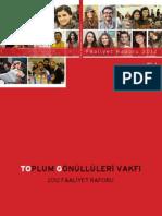 2012 TOG Faaliyet Raporu