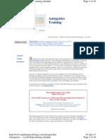 Psychology - Autogenics Training