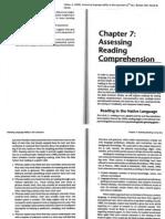 Assessing Reading 1