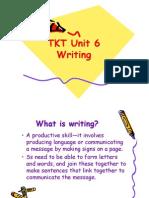 Unit 6 Writing