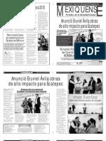 Versión impresa del periódico El mexiquense 22 abril 2013