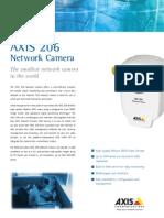 Axis 206 Datasheet