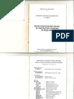 Régles d'éxécution des travaux de construction d'ouvrages en béton armé