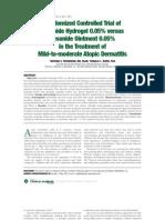 RCT Desonide Hydrogel vs Desonide Ointment
