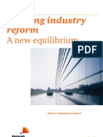 Pwc Banking Industry Reform PDF