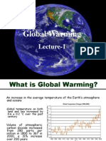 Lecture 1 Global Warming