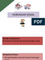 presentasi hubungan sosial