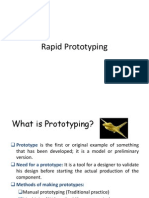 Rapid prototyping
