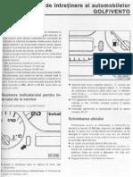 Planul de Intretinere VW Golf 3