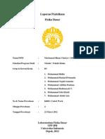 Laporan Praktikum KR 02 Mochamad Ilham Chairat