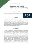 Jet Impingement Heat Transfer