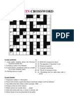 ARTS Crossword