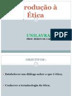 INTRODUÇÃO A ÉTICA ppt 2003