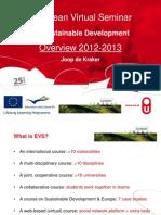 EVS 2012-2013 Sinaia Joop