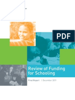 GONSKI Review of Funding for Schooling Final Report Dec 2011