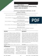 Co-digestão anaeróbia de substâncias surfactantes, óleo e lodo de esgoto