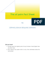 The Oil Palm Fact Sheet