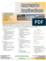 Aggregate Applications Brochure