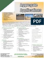 Aggregate Applications Brochure