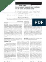 Os microrganismos nas atividades de disposição de esgotos no solo estudo de caso