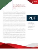 How to Thwart the Digital Insider Tom Kellermann White Paper