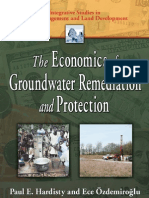 The economics of groundwater remediation and protection.