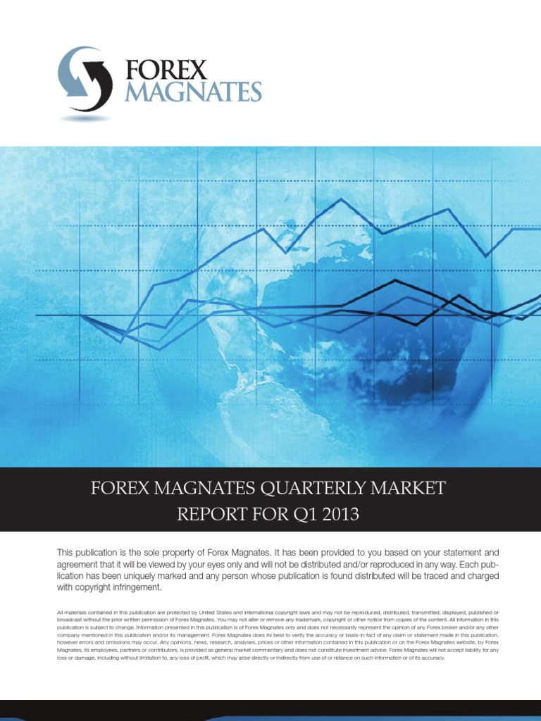 Global Automotive News: Forex Magnates Retail Forex Industry Report Q1