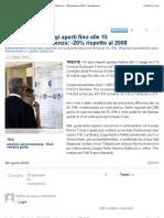 Elezioni Friuli, Seggi Aperti Fino Alle 15 Ieri Crollo Dell'Affluenza
