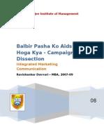 Balbir Pasha Ko AIDS Hoga Kya
