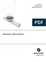 Sanitaire, Silver Series Manual