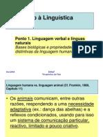 introdução a linguistica