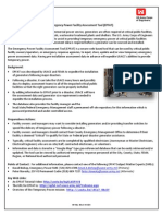 Emergency Power Facility Assessment Tool Fact Sheet 30 May 2012