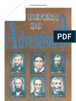 Livro Em Defesa Do Adventismo