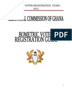 Ghana Elections - Biometric Voter Registration Guide - 2012