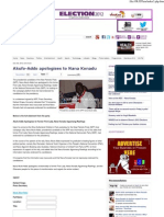 Akufo-Addo Apologises to Nana Konadu_Citifmonline