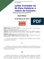 Karl Marx - Resoluções Tomadas na Reunião Para Celebrar o Aniversário da Comuna.pdf