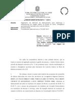 Parecer 1_Diarias Concessao Deslocamento Dentro Do Estado Adicional Deslocamento Aplicabilidade Exame