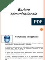Bariere Comunicationale Important