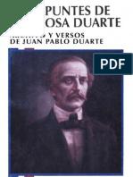 Rosa Duarte - Apuntes de Rosa Duarte
