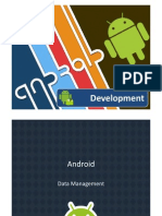 Android Data Management