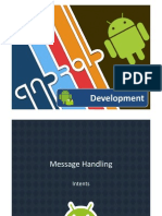 Android Message Handling