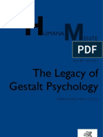 Humana_Mente 17 the Legacy of Gestalt Psychology